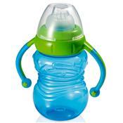 Copo De Treinamento Bebedor Em Silicone Azul Bb019 Multikids Baby