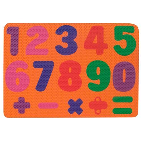 Encaixe os Números em E.V.A 16 peças 1087 Ciabrink