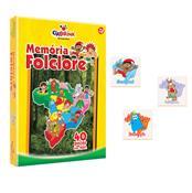 Jogo Da Memória Folclore Madeira 40 Peças 105 Ciabrink