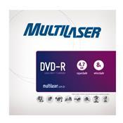 Mídia Dvd-R Envelope Shrink 25 Unidades Dv001 Multilaser