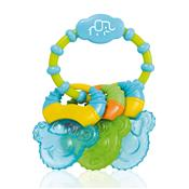 Mordedor Refrescante Com Gel Cool Rings Azul Bb150 Multikids