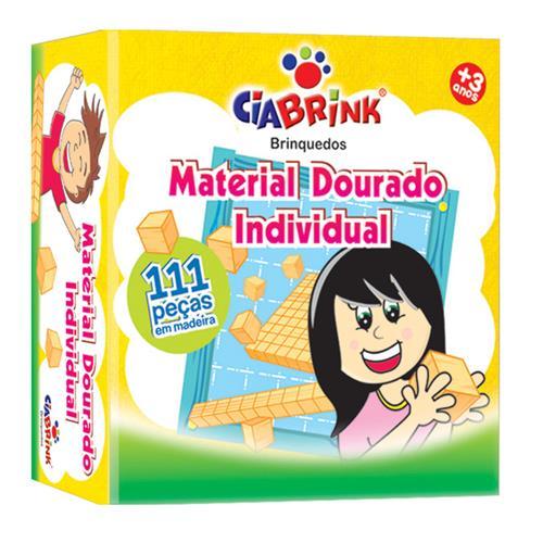 Jogo Material Dourado Individual 111 Pçs 1278 Ciabrink