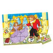 Quebra Cabeça A Bela E A Fera Caixa Cartonada 135 Ciabrink