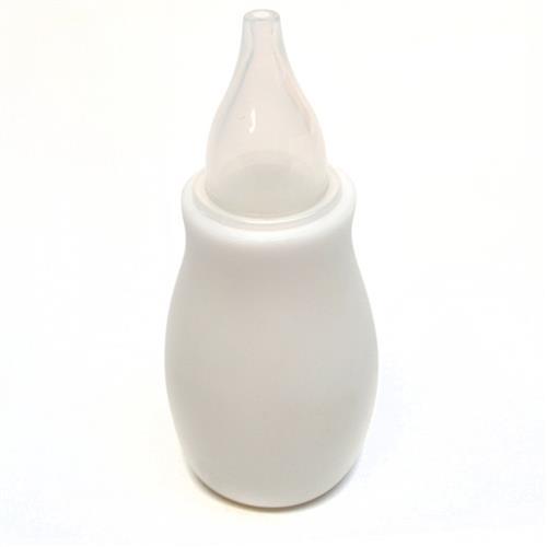 Aspirador Nasal Para Bebês Bico Flexível Branco 8825 Love