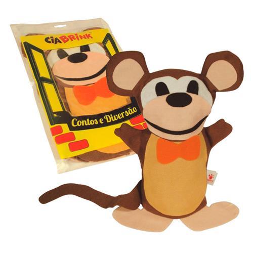 Fantoche Macaco Individual Feltro Colorido 1217 Ciabrink