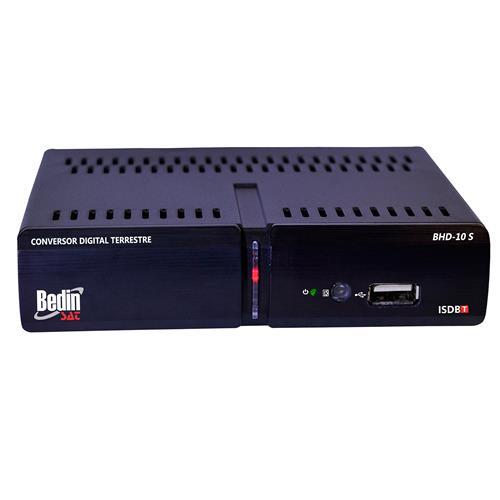 Conversor Digital Terrestre Hd Bhd-10S Bedin Sat