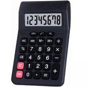 Calculadora De Mesa 8 Dígitos Preta Pilha Aa 806A-8 Truly