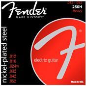 Encordoamento Para Guitarra Aço 0.12 250H Niquelado Fender