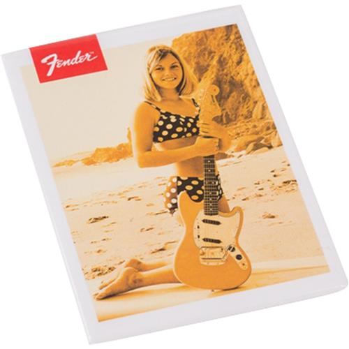Ímã Magnético Bikini Ilustrado Girl Estilo Old-School Fender