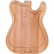 Tábua De Carne Madeira Formato Guitarra Telecaster Fender