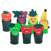 Dedoche Salada De Frutas 07 Personagens 1431 Ciabrink