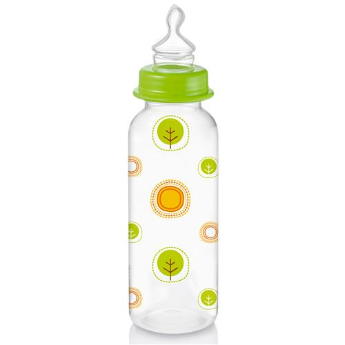 Mamadeira Nature Pp Verde Ortoflex 250Ml Bb115 Multikids