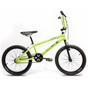 Bicicleta Infantil BMX Serie 09 Verde E Preto 4014 ProX