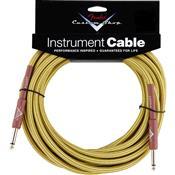 Cabo Para Instrumentos 7,5M Custom Shop Amarelo Tweed Fender