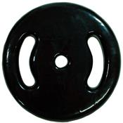 Anilha de Ferro Emborrachada Preta 20kg 0676 Polimet
