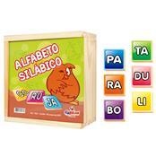 Alfabeto Silábico Educativo Mdf 150 Peças 1002 Ciabrink