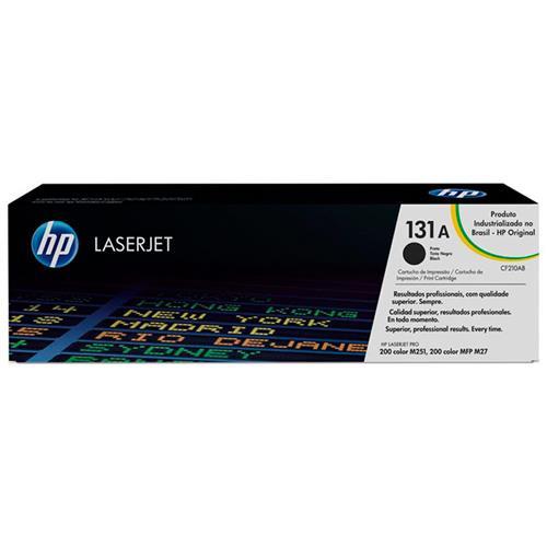 Toner Laserjet Color 131A Preto M251nw/M276nw Hp Suprimentos
