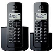 Telefone Sem Fio Preto Com Base E Ramal Kx-Tgb112lbb Panasonic