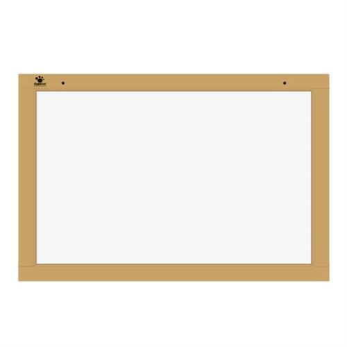 Quadro Branco 40x60 cm 3 Peças Em Mdf 2202 Ciabrink