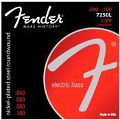 Encordoamento Para Contrabaixo 4 Cordas 0.40 7250L  Fender