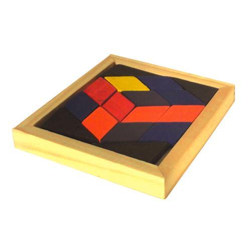 Mosaico Colorido 16 peças Base 11x12 1079 Ciabrink