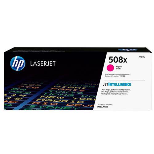 Toner Laserjet Color Hp 508X Magenta Hp Suprimentos