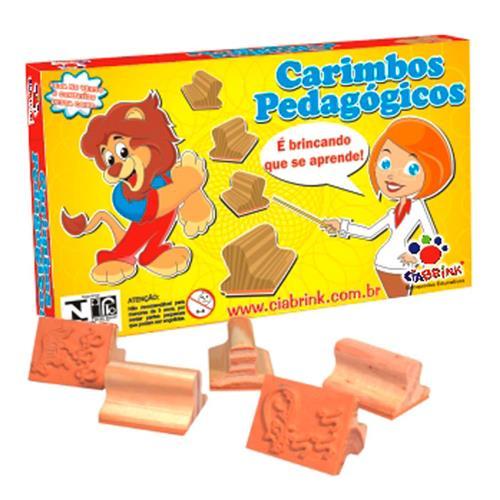 Jogo De Carimbos Pedagógico Frutas 12 Peças 038 Ciabrink