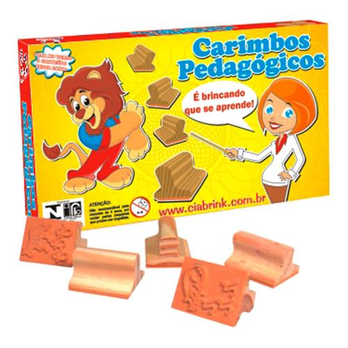 Carimbos Comunicados 10 Peças Madeira 035 Ciabrink