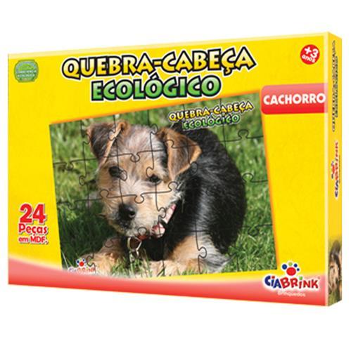 Quebra Cabeça Ecológico Cachorro 24 peças 1351 Ciabrink
