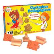 Jogo De Carimbos Alfabeto Silábico 2 20 Peças 085 Ciabrink