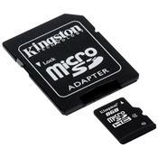 Cartão De Memória Micro Sd 8Gb Com Adaptador Sdc4-8Gb Kingston