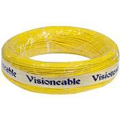 Cabinho Flexível 16 1,00Mm 100Mt Amarelo Vision Cable