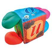Cubo Grande Com Alça Vogais Brinquedo Educativo 1379 Ciabrink