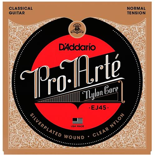 Encordoamento Violão Nylon Tensão Normal Enej45 D'addario