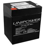 Bateria Para Nobreak Chumbo 12V 5Ah F187 Up1250 Unipower