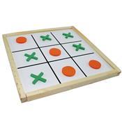 Jogo Da Velha Brinquedo Educativo 09 Peças 1729 Ciabrink