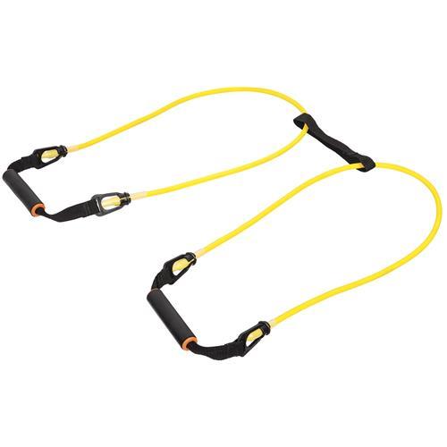 Elastic Body Amarelo Para Fortalecimento Muscular 1316 Polimet