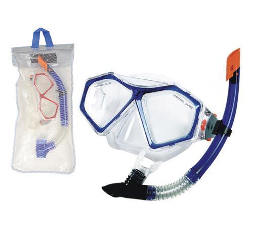 Kit de Mergulho WinMax Snorkel E Máscara Ahead Sports