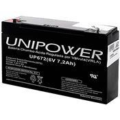 Bateria Foston F187 Chumbo Tensão 6V 7Ah Up672 Unipower