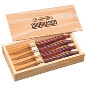 Conjunto de Faca para Churrasco 4 peças 21499713 Tramontina