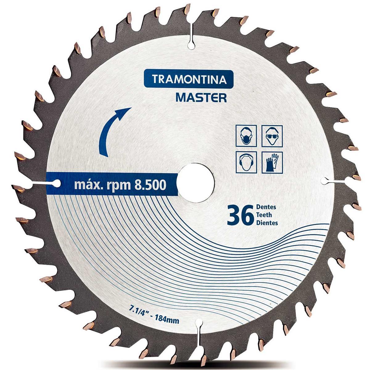 Disco De Corte Para Serra Circular 42580124 Tramontina