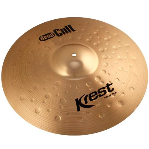 Prato Bateria Medium Ride 20 Pol Bronze B8 Deep Cult Krest