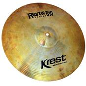 Prato Para Bateria Medium Crash 17 Pol Bronze B10 Rustic Krest