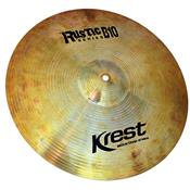 Prato Para Bateria Medium Crash 18 Pol Bronze B10 Rustic Krest
