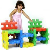 Monte Play Estante Colorido Polietileno Alpha Brinquedos