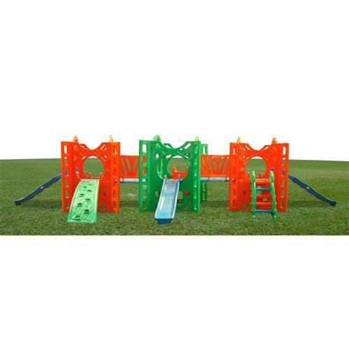 Playground Fortaleza Com 2 Passarelas Alpha Brinquedos