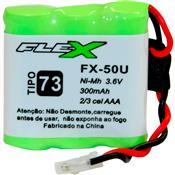 Baterial Recarregável 300mah 3.6v Aaa Ni-mh 52977 Flex