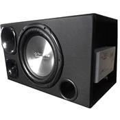 Caixa Box 360w Trio Aluminium Amplificada Box2100 Digisom