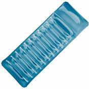 Colchão Inflável Ipanema Ergonômico Azul Em Pvc 124400 Ntk