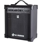 Caixa Amplificada Compacta Usb 15w 2eq Lx60usb Ll Áudio